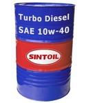 Моторное масло Sintec turbo diesel SAE 10w-40 API CF-4/SJ (180 кг / 205 л)