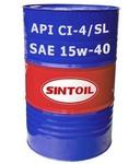 Моторное масло Sintec truck SAE 15w-40 API CI-4/SL бочка (180 кг / 205 л)
