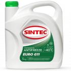 Антифриз зелёный -40°С Sintec  EURO G11 (5кг)