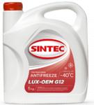 Антифриз красный -40°С Sintec  LUX G12 (5 кг)
